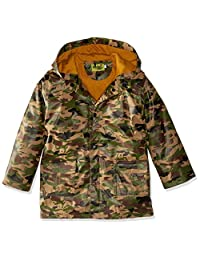 Western Chief Boys' Camo Raincoat