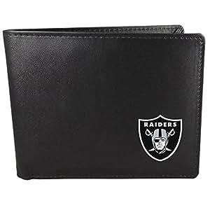 NFL Oakland Raiders 双折钱包,黑色