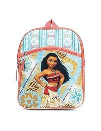 Disney Moana 蓝色 12 英寸幼儿背包书包