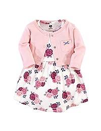 Hudson 女宝宝棉质开衫和连衣裙