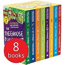 小屁孩树屋历险记8册盒装 英文原版 Story Treehouse 疯狂树屋历险记 章节故事书 6-12岁
