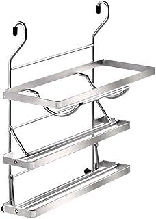 Kesseböhmer 80430019 储物柜,金属,不锈钢效果,15 x 38.5 厘米