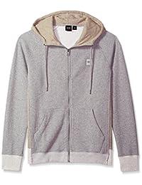 HUGO BOSS 男式 zteen 连帽 zip-jacket