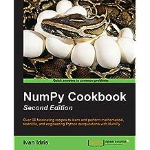 NumPy Cookbook - Second Edition (English Edition)