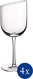 Villeroy & Boch 11-3653-8110 新月套装,4件套,优雅,现代红酒日使用,水晶玻璃,透明,可用洗碗机清洗