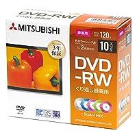 三菱化学媒体 重复录像用 DVD-RCPRM 120分钟 202004VHW12NX10D1-B  10枚パック(プラケース)