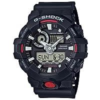 CASIO 卡西欧 日本品牌 G-SHOCK系列 石英男士手表 GA-700-1A