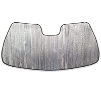 Autotech Park 前挡风玻璃遮阳罩兼容 2015-2020 Dodge Charger Sedan,定制款挡风玻璃遮阳罩