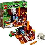 LEGO 乐高  拼插类 玩具  Minecraft  我的世界:冥界门户 21143 8+岁