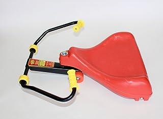 Roller Racer 红色豪华版是我们*好的Sit-Skate 滑板车 ~ Mason Corporation 在美国制造的真诚创新 — 完全装配了运动模型增强功能