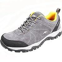 Topsky 远行客 男款户外运动登山鞋防滑户外鞋耐磨越野跑鞋爬山低帮徒步鞋反毛皮休闲鞋 20995F