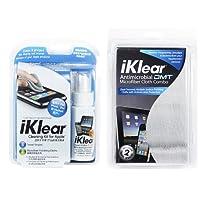 美国iKlear IK-IPOD-DMT进口电脑屏幕清洁组合(附抗菌布) iPad、MacBook、笔记本电脑、平板电脑、触摸屏