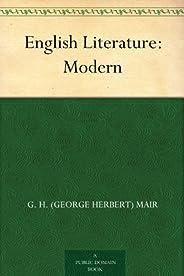 English Literature: Modern (免費公版書) (English Edition)