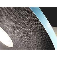 双层玻璃玻璃胶带,DC-PEF12P 宽 0.32 cm x 厚 1.27 cm x 190.5 cm 黑色