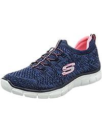 Skechers 斯凯奇 SPORT系列 女 轻质针织套脚训练鞋 12418