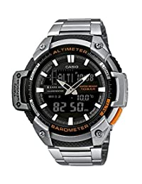 Casio 卡西欧 Collection 男士手表 SGW-450HD-1BER,Blue/Silver