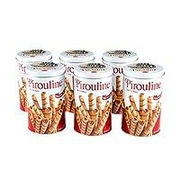 Pirouline 华夫棒,巧克力榛子,每罐396.2克(6件装)