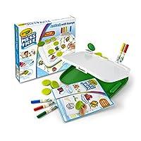 Crayola 绘儿乐 自由着色,附带印章,绘画工具,记号笔, 纸张, 方便携带,旅行良伴
