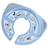 Blue Disney Mickey Mouse Foldable Toilet Trainer Seat