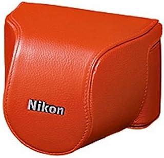 Nikon CB-N2000SM 机身保护套套装 适用于尼康 1 J2 带 10-30 毫米镜头 - 橙色