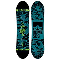 Rome Snowboards Monished 滑雪板,黑色,90