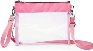iSPECLE 透明体育场袋,透明钱包认证,适用于 NFL、PGA、NCAA,可调节,4.92 英尺,女式男式