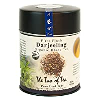 The Tao of Tea, First Flush Darjeeling Black Tea, Loose Leaf, 3.5 Ounce Tin