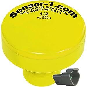 Sensor-1 GPS Planting Speed Sensor, 1/2 Hz with 3 Pin Deutsch Connector 黄