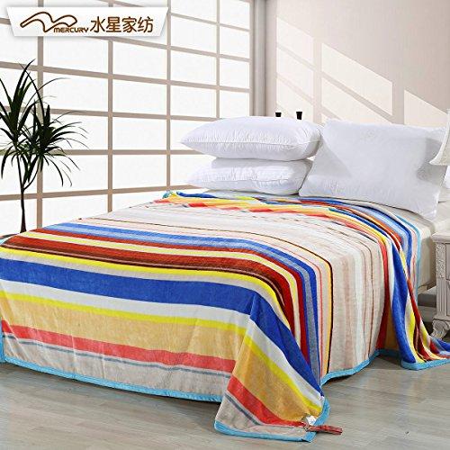 罗马假日毯彩虹之约108433家用家居床上用品儿童床品毯子
