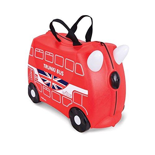 英国Trunki小朋友行李箱-伦敦巴士