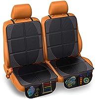 FORTEM 汽车座椅保护垫 耐用防水靠背座椅保护垫 防止损坏 2组 FRTM-CSP