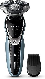 Philips 飛利浦 具有Turbo Plus模式的5000系列干濕兩用男士電動剃須刀-S5530 / 06(英國2針浴室插頭)