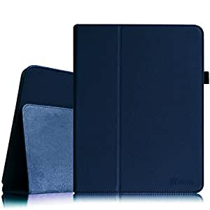 Fintie iPad 1 Folio Case Cover 深蓝色
