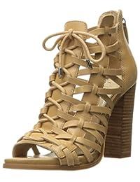 Jessica Simpson 女士 Riana 及踝短靴 沙城堡 9 M US
