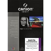 "Canson Infinity Baryta 摄影艺术纸 0 8.5""X11"" 200002271"