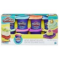 Hasbro 孩之宝 Play-Doh 培乐多彩泥 8色彩泥补充装 彩色 A1206