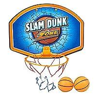 ArtCreativity 篮球框套装,包括 2 个迷你篮球、1 个网框和安装支架,室内门篮球套装,适用于家庭、办公室、卧室,男孩和女孩的*佳生日礼物
