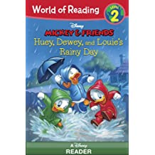 World of Reading Mickey & Friends:  Huey, Dewey, and Louie's Rainy Day Adventure: Level 2 (English Edition)