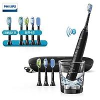 Philips飞利浦 Sonicare 钻石亮白智能型 声波震动牙刷 (钛金黑) HX9924/12