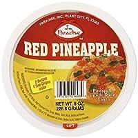 Paradise 菠萝块, 红色, 8盎司(226.4克)