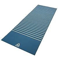 锐步(Reebok)原装进口健身瑜伽垫4mm PVC环保防滑健身垫品质专业瑜伽垫 多色可选