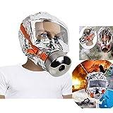 Denshine 30 分钟消防面罩,3C 认证消防员防毒面具急救*口罩,*防护面罩