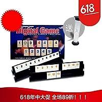 拉密标准拉密牌数字游戏6人对战版袋装拉密沙漏娱乐骰子