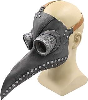 Cafele Plague 鸟面具长鼻梁角色扮演蒸汽朋克万圣节服装道具