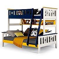 aok 多喜爱 儿童床 松木双层床双人上下铺床成人实木高低子母床 (1.35 * 2.0m,只有高低床)