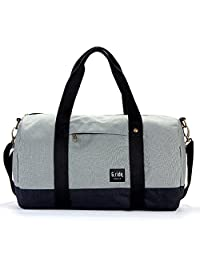 健身包 运动包 单肩包 旅行袋 圆桶 短途手提 长肩带 防泼水面料 轻便
