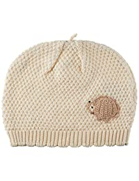 Hoppetta 有机棉帽子 キナリ はりねずみ 頭まわり約42cm~48cm