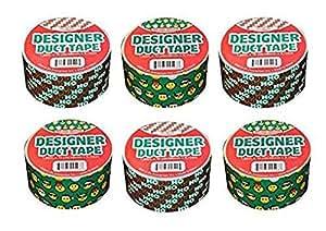 Designer Duct 胶带 6 包 五个