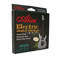 爱丽丝ALICE电吉他弦009010电吉它琴弦1-6根一套防锈套装AE530-L电吉他(010-046)
