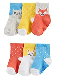 Carter's 女婴袜,6 双装